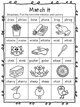 Phonics Poem Digraphs For Science Discussion Water Safety First Grade
