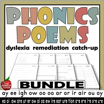 Phonics Poems Phonics Poems For Fluency Fluency Poems