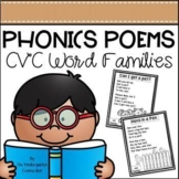 Phonics Poems - CVC Word Families