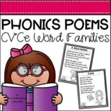 Phonics Poems - CVCe Word Families