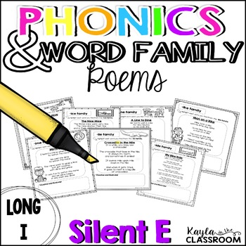 Long I Phonics Poems [CVCe]