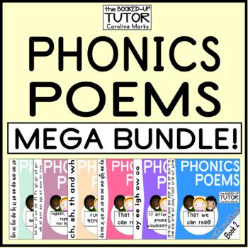 Phonics Poems {diphthong bundle} {ASSESSMENT} MEGA BUNDLE