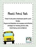 Phonics Poems Pack