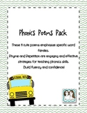 Phonics Poems Pack