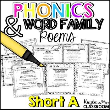 Short A Phonics Poems