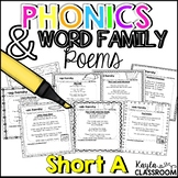 Short A Phonics Poems