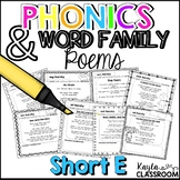 Phonics Poems-Short E