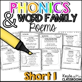 Short I Phonics Poems