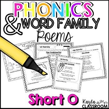 Phonics Poems - Short O