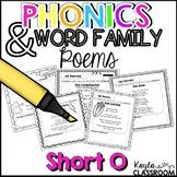 Short O Phonics Poems