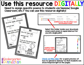 Phonics Poems - The Alphabet- Distance Learning Update