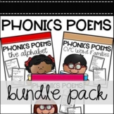 Phonics Poems - The BUNDLE- Distance Learning Update