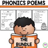 Phonics Poems - The BUNDLE