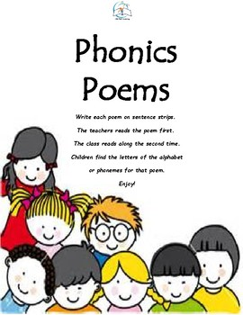 Phonics Poems for Grades K-1