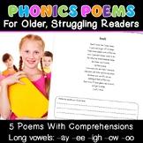 {Phonics Poems} {Remedial reading phonics} {phonics for ol