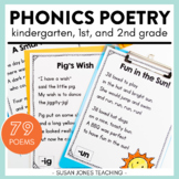 Phonics Poems for Grades K-2 | with Digital Version for Distance Learning