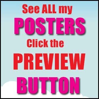 Phonics Poster Bundle - Initial Sounds - 4 Word Walls & Auditory Discrimination