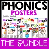 Phonics  Posters Mega Bundle Distance Learning