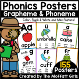 Phonics Posters (155 Phoneme & Grapheme Sound Wall Posters