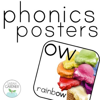 Phonics Posters with Photographs