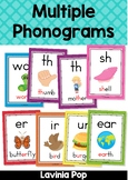 Phonics Posters - 59 Multiple Phonograms Posters
