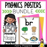 Phonics Posters Bundle (Blends, Digraphs, Vowel Teams...)