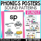 Phonics Posters Bundle (Blends, Digraphs, Vowel Teams...)