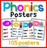 Phonics Posters (105 sounds)