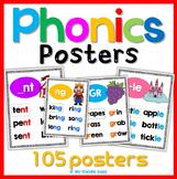 Phonics Posters (105 sounds)