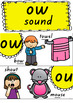 Phonics Posters Alternative Spelling - New Zealand Fonts RAINBOW POP