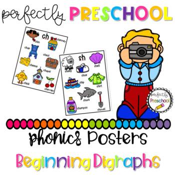 Phonics Posters-Beginning Digraphs