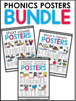 Phonics Posters Bundle