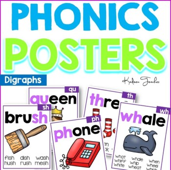 Phonics Posters- Digraphs