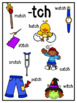 Phonics Posters-Ending Digraphs