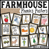 Phonics Posters: Farmhouse Style