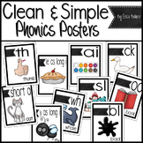Phonics Posters: Simple Style