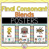 Final Consonant Blends Posters