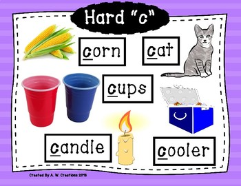 """Phonics Posters - Hard and Soft """"c"""" and """"g"""" FREEBIE"""