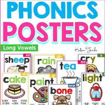 Phonics Posters-Long Vowels