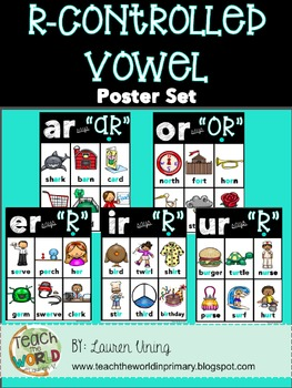 Phonics Posters R-Controlled Vowels