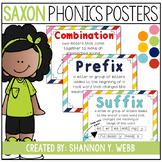 Saxon Phonics Posters (RAINBOW)