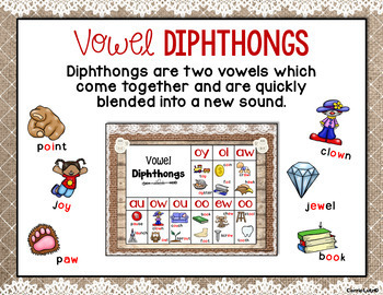 Phonics Posters Shabby Chic ~ Farmhouse Style