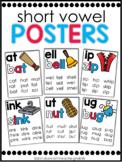 Phonics Posters Short Vowels