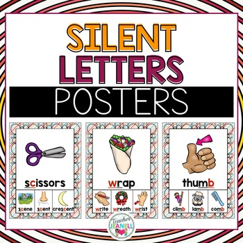 Silent Letters Posters