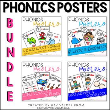 Phonics Posters: The Bundle