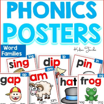Phonics Posters-Word Families