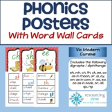 Phonics Posters / Word Wall Cards (Sassoon Primary Font) #2sale