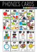 Phonics Posters AND Cards BUNDLE | 10 spelling patterns - 4 designs - 50% OFF