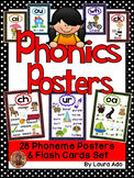 Phonics Posters and Flashcards Bundled Pack