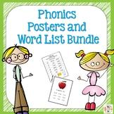 Phonics Posters and Word Lists Bundle